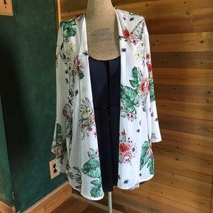 New Torrid kimono blouse